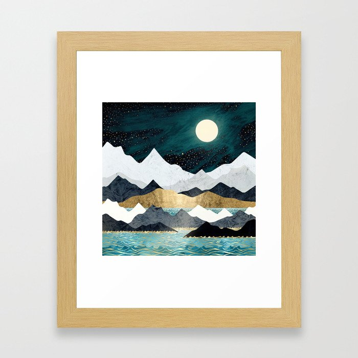 Ocean Stars Gerahmter Kunstdruck