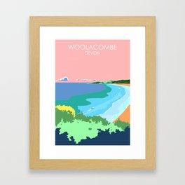 Woolacome Framed Art Print