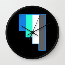 Fraysexuality and Frayromanticism Wall Clock