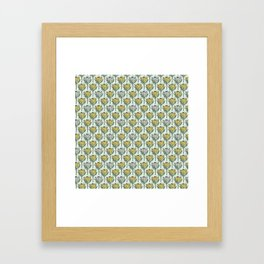 King Protea (Yellow) Framed Art Print