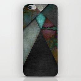 """""""Grunge metal pattern"""" iPhone Skin"""