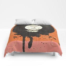 VINTAGE VINYL DRIP Comforters