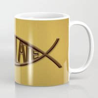 chocolate Mugs featuring Chocolate by Sebastián Arango Guerrero