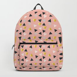 Gold triangles multi Backpack
