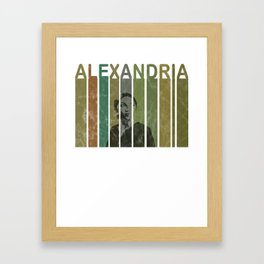 Alexandria Ocasio-Cortez Feminist Political Framed Art Print