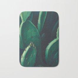 Cactus Watercolor Print by Leon Carroll Bath Mat