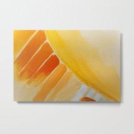 Painting on Canvas Metal Print