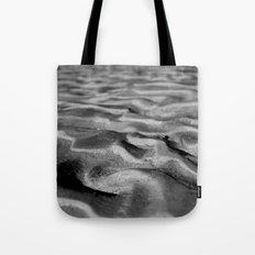 Desert Waves BW Tote Bag