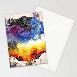 nebula borning Stationery Cards