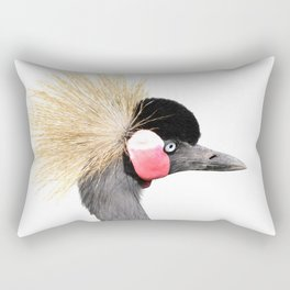 Crowned Crane Rectangular Pillow