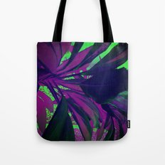 Behind the foliage Tote Bag