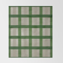 Evergreen Cozy Cabin Plaid Throw Blanket
