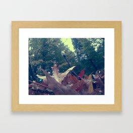 The Street Lamp Framed Art Print