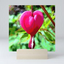 Crying heart Mini Art Print