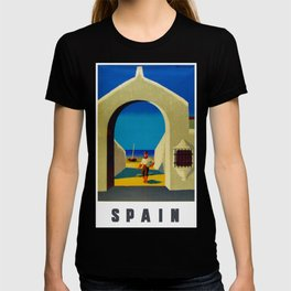 Vintage Spain Travel - Fisherman T-shirt