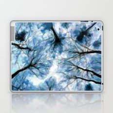 Trees Reaching For The Sky - Painting Style Laptop & iPad Skin
