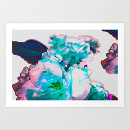 bright and scratchy Art Print
