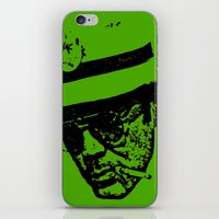 hunter s thompson iPhone & iPod Skins featuring Outlaws of Literature (Hunter S. Thompson) by Silvio Ledbetter