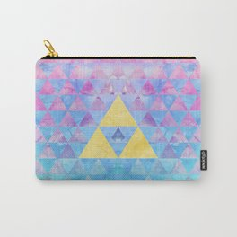 Zelda Geometry Carry-All Pouch