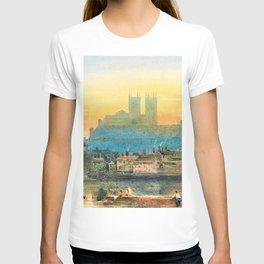12,000pixel-500dpi - David Cox - Westminster from Lambeth - Digital Remastered Edition T-shirt