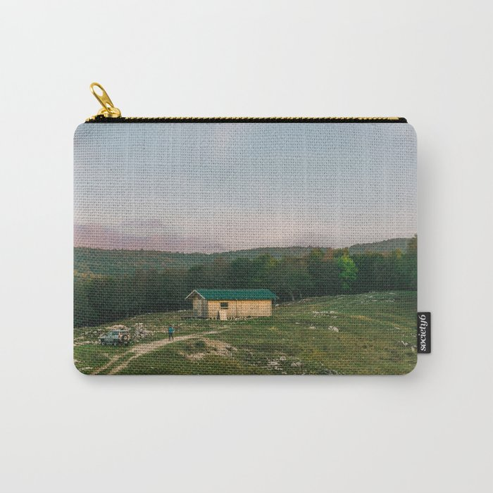 Shepherd's cabin, Italy, 2017 Carry-All Pouch