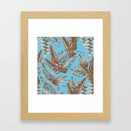 Wild Tropicals Framed Art Print