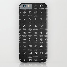 Hobo Signs iPhone Case