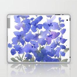 Beautiful Blue Delphiniums Laptop & iPad Skin