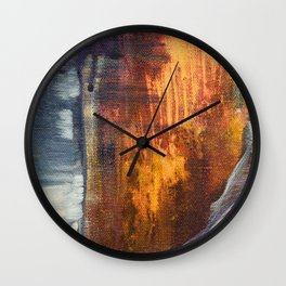 Stormy Sea 1 Wall Clock
