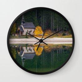 Dolomites 10 - Italy Wall Clock