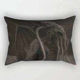 Cthulhu Rises Rectangular Pillow