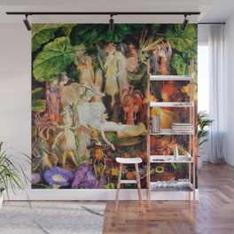 The Fairy's Woodland Funeral by John Anster Fitzgerald Wall Mural
