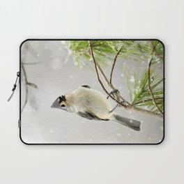 Snowy Songbird Laptop Sleeve