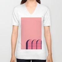 bauhaus V-neck T-shirts featuring Bauhaus Archiv by bloooom