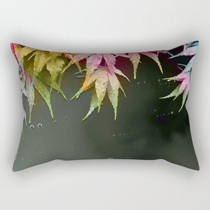 Acer Leaves Rectangular Pillow