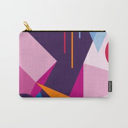Abstract modern geometric background. Composition 3 Carry-All Pouch