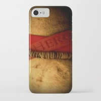 hero iPhone & iPod Cases featuring HERO by Andy Burgess