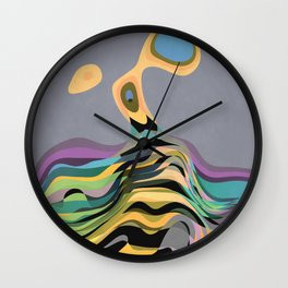 Back into the Ocean Wall Clock