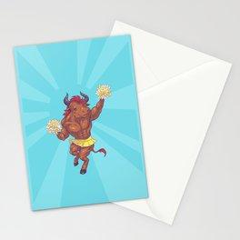 Minotaur Cheer Stationery Cards