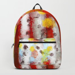 Whimsical Birch Trees Backpack
