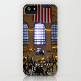 Grand Central Madness iPhone Case