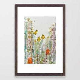 mes tous petits Framed Art Print