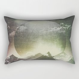 Always dream big Rectangular Pillow