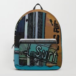 Retro Surfer Backpack