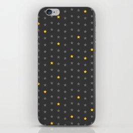 Yellow-stars iPhone Skin