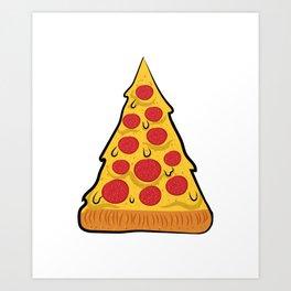 Pizza Lovers Tshirt Art Print