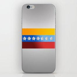 Venezuelan Flag H iPhone Skin