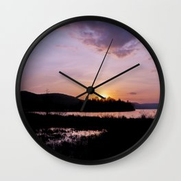 Natureza Wall Clock