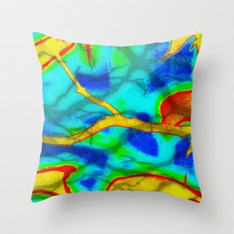 The Branch Bold Abstract Throw Pillow