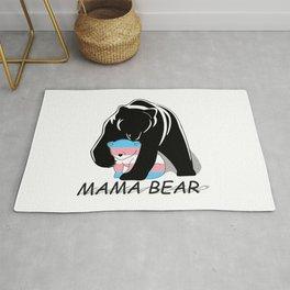 Mama Bear Transgender Rug